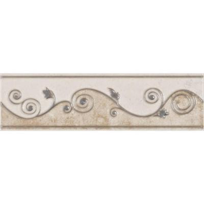 Melbourne Sand 3 in. x 8 in. Ceramic Listello Wall Tile