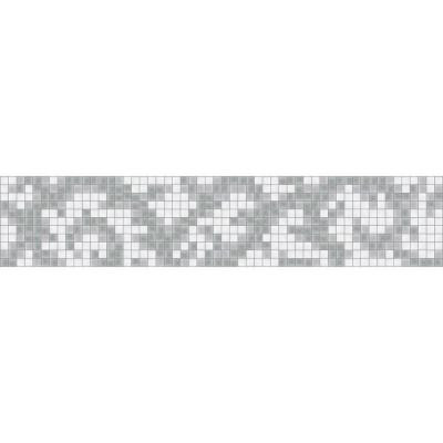 Arcadia Refreshed Border 5 in. x 120 in. Glass Wall Light Residential Floor Mosaic Tile (10 Indv Sections-Case)