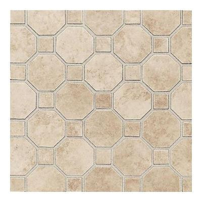 Salerno Cremona Caffe 12 in. x 12 in. x 6 mm Ceramic Mosaic Floor and Wall Tile