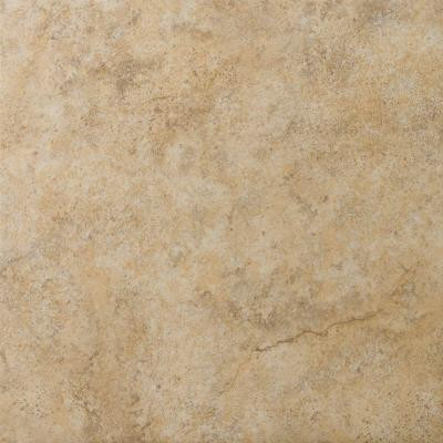 Toledo 13 in. x 13 in. Walnut Ceramic Floor and Wall Tile (16.52 sq. ft. / case)