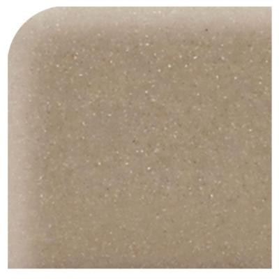 Modern Dimensions Gloss Elemental Tan 4-1/4 in. x 4-1/4 in. Ceramic Bullnose Corner Wall Tile