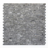 Modern Madrid 12 in. x 12 in. x 9.5 mm Marble Natural Stone Mesh-Mounted Mosaic Wall Tile (10 sq. ft./Case)