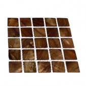 Mother Of Pearl Tiger Eye Tile Sample