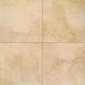 Portenza Oro Chiaro 17 in. x 17 in. Glazed Porcelain Floor and Wall Tile (13.23 sq. ft. / case)-DISCONTINUED