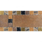 Terra Antica Bruno 6 in. x 12 in. Porcelain Decorative Accent Floor and Wall Tile