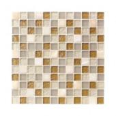 Onyx Studio 12 in. x 12 in. x 8 mm Glass Onyx Mosaic Wall Tile