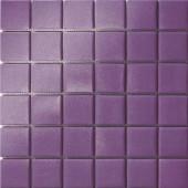 12.5 in. x 12.5 in. Capri Viola Grip Glass Tile-DISCONTINUED