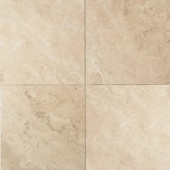 Travertine Baja Cream 16 in. x 16 in. Natural Stone Floor and Wall Tile (10.32 sq. ft. / case)