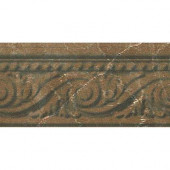 Listel Pisa 4 in. x 8 in. Pulpis Ceramic Accent Tile-DISCONTINUED