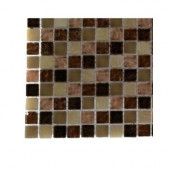 Southern Comfort Squares Glass Tile Sample