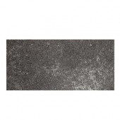 Metal Effects Illuminated Titanium 6-1/2 in. x 20 in. Porcelain Floor and Wall Tile (10.5 sq. ft. / case)-DISCONTINUED