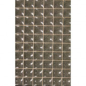 Mosaico Star Gris 8 In. x 13 In. Ceramic Tablet Mosaic for Wall Use-DISCONTINUED