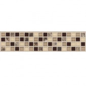 Artisan Bellini 2-3/4 in. x 12 in. x 8 mm Marble Mosaic Floor and Wall Tile