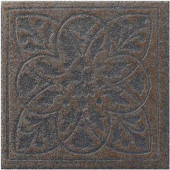 Ridgeway Ember 6-1/2 in. x 6-1/2 in. Porcelain Decorative Floor and Wall Tile (3.52 sq. ft. / case)