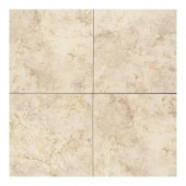 Brancacci Windrift Beige 18 in. x 18 in. Glazed Ceramic Floor and Wall Tile (18 sq. ft. / case)-DISCONTINUED