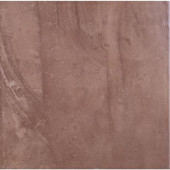 Cityscape 12 in. x 12 in. Plaza Brown Porcelain Floor and Wall Tile-DISCONTINUED