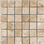 Montagna Cortina 12 in. x 12 in. Porcelain Mosaic Floor and Wall Tile