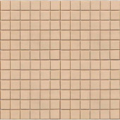 Coffeez Latte-1101 Mosaic Recycled Glass 12 in. x 12 in. Mesh Mounted Floor & Wall Tile (5 sq. ft.)