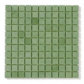 Sandstone 1 In. x 1 In. Mosaic Avocado 12 In. x 12 In. Floor & Wall Tile-DISCONTINUED
