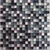 Cloudz Nimbostratus-1432 Stone And Glass Blend Mesh Mounted Floor and Wall Tile - 3 in. x 3 in. Tile Sample