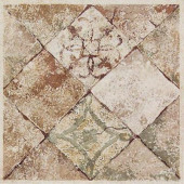 Portenza Universal 4-1/2 in. x 4-1/2 in. Glazed Porcelain Deco Corner Floor and Wall Tile