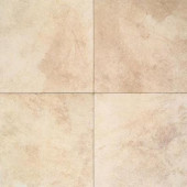 Portenza Avorio Antico 17 in. x 17 in. Glazed Porcelain Floor and Wall Tile (13.23 sq. ft. / case)-DISCONTINUED