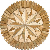 Medallion 7122 36 in. Travertine Floor and Wall Tile (7.07 sq. ft./case)-DISCONTINUED