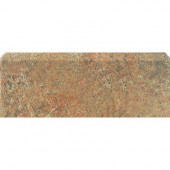 Craterlake Fuego 3 in. x 12 in. Glazed Ceramic Single Bullnose Tile-DISCONTINUED