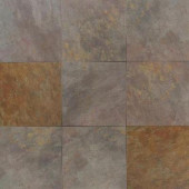 Villa Valleta Indian Summer 18 in. x 18 in. Porcelain Floor and Wall Tile (18 sq. ft. / case)-DISCONTINUED