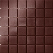 12.5 in. x 12.5 in. Capri Marrone Grip Glass Tile-DISCONTINUED