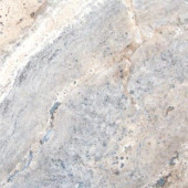 Silver 18 in. x 18 in. Honed Travertine Floor and Wall Tile