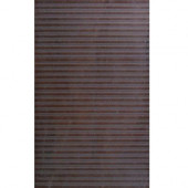 Avila Lines 12 in. x 24 in. Marron Porcelain Floor and Wall Tile (14.25 sq. ft./case)-DISCONTINUED