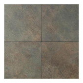 Continental Slate Brazilian Green 18 in. x 18 in. Porcelain Floor and Wall Tile (18 sq. ft. / case)