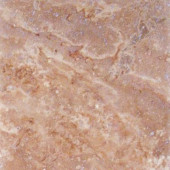 English Walnut 12 in. x 12 in. Honed Travertine Floor & Wall Tile-DISCONTINUED