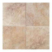 Continental Slate Egyptian Beige 18 in. x 18 in. Porcelain Floor and Wall Tile (18 sq. ft. / case)