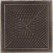 Urban Metals Bronze 2 in. x 2 in. Composite Spiral Insert Trim Wall Tile