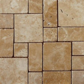 Coliseum 13 in. x 13 in. Rome Porcelain Mosaic Tile-DISCONTINUED