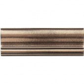 2 in. x 6 in. Cast Metal Ogee Classic Bronze Tile (10 pieces / case) - Discontinued