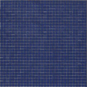 12.8 in. x 12.8 in. Venice Starlight Glossy Glass Tile-DISCONTINUED