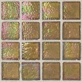 Egyptian Glass Pyramid 12 in. x 12 in. x 6 mm Glass Face-Mounted Mosaic Wall Tile