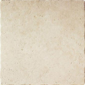 Leonardo 6 in. x 6 in. Beige Porcelain Floor and Wall Tile-DISCONTINUED