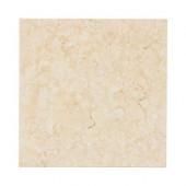 Creama 6 in. x 6 in. Honed Marble Floor/Wall Tile (1pk/4pcs-1 sq. ft.)