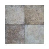Terra Antica Celeste/Grigio 6 in. x 6 in. Porcelain Floor and Wall Tile (11 sq. ft. / case)