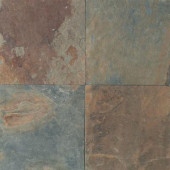 Natural Stone Collection Mongolian Spring 12 in. x 12 in. Slate Floor and Wall Tile (10 sq. ft. / case)