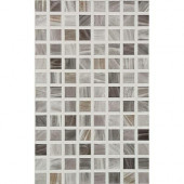 Eidos 12 in. x 8 in. Grafito Ceramic Tablet Mosaic Wall Tile