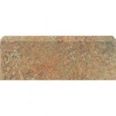 Craterlake Fuego 3 in. x 18 in. Glazed Ceramic Single Bullnose Tile-DISCONTINUED