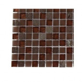 Penny Pottery Squares Glass Tile Sample