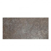 Metal Effects Brilliant Bronze 6-1/2 in. x 20 in. Porcelain Floor and Wall Tile (10.5 sq. ft. / case)-DISCONTINUED