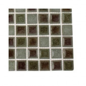 Roman Selection Quattro Sotto Glass Floor and Wall Tile - 6 in. x 6 in. x 8 mm Floor and Wall Tile Sample