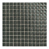 Maracas Evergreen 12 in. x 12 in. 8mmGlass Mesh-Mounted Mosaic Wall Tile (10 sq. ft. / case)-DISCONTINUED